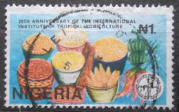 Poštovní známka Nigérie 1992 Institut tropického hospodáøství Mi# 591