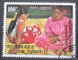 Poštovní známka Džibutsko 1978 Umìní, Paul Gauguin Mi# 227