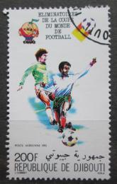 Poštovní známka Džibutsko 1981 MS ve fotbale Mi# 291