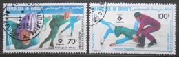 Poštovní známky Džibutsko 1984 ZOH Sarajevo Mi# 392-93