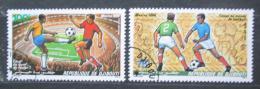 Poštovní známky Džibutsko 1986 MS ve fotbale Mi# 461-62