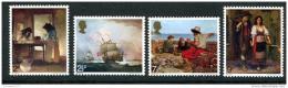 Poštovní známky Jersey, Velká Británie 1971 Umìní Mi# 57-60 Kat 6.50€