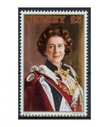 Poštovní známka Jersey, Velká Británie 1983 Královna Alžbìta II. Mi# 313 Kat 14€