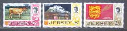Poštovní známky Jersey, Velká Británie 1974 Rùzné motivy Mi# 107-09