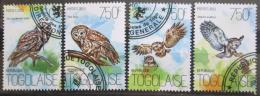 Poštovní známky Togo 2013 Sovy a myši Mi# 5421-24 Kat 12€