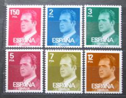 Poštovní známky Španìlsko 1976 Král Juan Carlos I. Mi# 2237-42