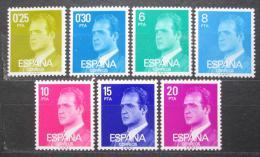 Poštovní známky Španìlsko 1977 Král Juan Carlos I. Mi# 2303-09