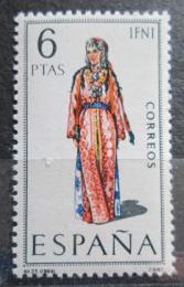 Poštovní známka Španìlsko 1969 Lidový kroj Ifni Mi# 1793