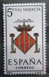 Poštovní známka Španìlsko 1966 Znak Valencia Mi# 1592