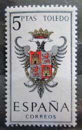 Poštovní známka Španìlsko 1966 Znak Toledo Mi# 1591