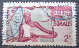 Poštovní známka Francouzské Somálsko 1947 Somálská žena Mi# 294