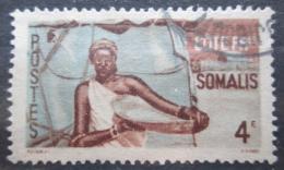 Poštovní známka Francouzské Somálsko 1947 Somálská žena Mi# 297