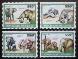 Poštovní známky Togo 2010 Sloni Mi# 3474-77 Kat 8.50€