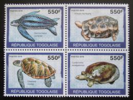 Poštovní známky Togo 2010 Želvy Mi# 3424-27 Kat 8.50€