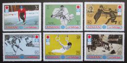Poštovní známky Adžmán 1971 ZOH Sapporo Mi# 762-67