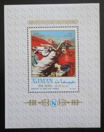 Poštovní známka Adžmán 1970 Umìní, Napoleon Bonaparte Mi# Block 191 A Kat 10€