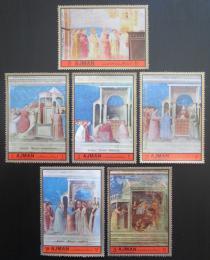 Poštovní známky Adžmán 1972 Život Panny Marie Mi# 1705-10