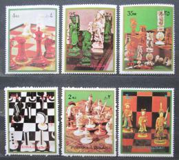 Poštovní známky Fudžajra 1973 Šachy Mi# 1319-24 Kat 10€