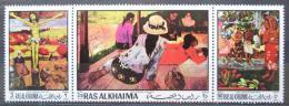 Poštovní známky Rás al-Chajma 1970 Umìní, Paul Gauguin Mi# 392-94 A Kat 8€