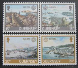 Poštovní známky Guernsey, Velká Británie 1983 Evropa CEPT Mi# 265-68