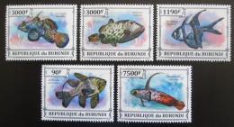 Poštovní známky Burundi 2013 Ryby Mi# 3218-22 Kat 8.90€