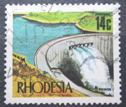Poštovní známka Rhodésie, Zimbabwe 1973 Pøehrada Kariba Mi# 130
