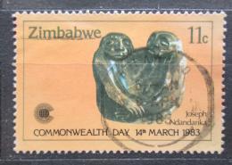 Poštovní známka Zimbabwe 1983 Socha, Joseph Ndandarika Mi# 273