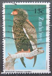 Poštovní známka Zimbabwe 1984 Orlík kejklíø Mi# 299