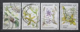 Poštovní známky Zimbabwe 1993 Orchideje Mi# 510-13 Kat 7.50€