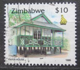 Poštovní známka Zimbabwe 1995 Dùm v Kwekwe Mi# 553