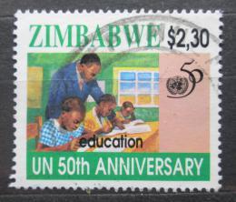Poštovní známka Zimbabwe 1995 OSN, 50. výroèí Mi# 567