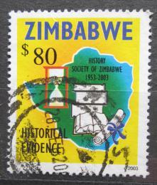 Poštovní známka Zimbabwe 2003 Historická spoleènost, 50. výroèí Mi# 749