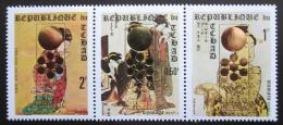 Poštovní známky Èad 1971 Japonské umìní pøetisk ZOH Sapporo Mi# 388-90