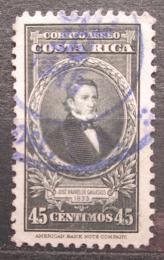 Poštovní známka Kostarika 1945 Prezident José Rafael de Gallegos y Alvara Mi# 320