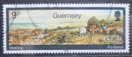 Poštovní známka Guernsey, Velká Británie 1985 Umìní, Paul J. Naftel Mi# 335