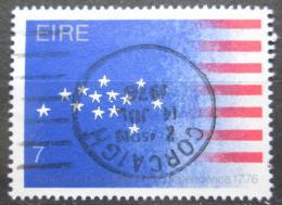 Poštovní známka Irsko 1976 Americká revoluce, 200. výroèí Mi# 340