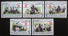 Poštovní známky Burundi 2013 Pandy Mi# N/N Kat 10€