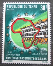 Poštovní známka Èad 1971 Konference OCAM Mi# 341