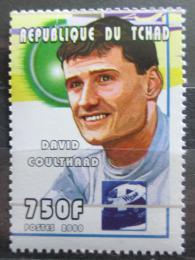 Poštovní známka Èad 2000 David Coulthard, automobilový závodník Mi# 2163
