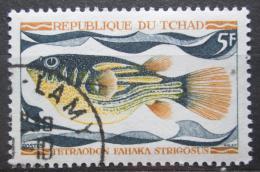 Poštovní známka Èad 1969 Tetraodon fahaka strigosus Mi# 284
