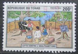 Poštovní známka Èad 1992 Boj proti negramotnosti Mi# 1222