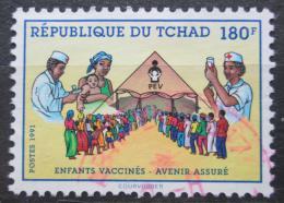 Poštovní známka Èad 1991 Preventivní oèkování Mi# 1199