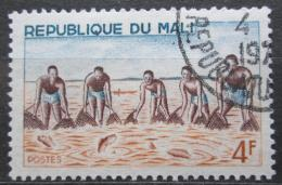 Poštovní známka Mali 1966 Tradièní rybolov Mi# 126