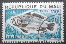 Poštovní známka Mali 1975 Robalo nilský Mi# 486