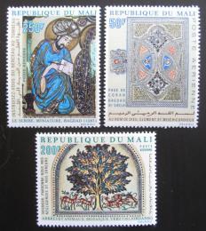 Poštovní známky Mali 1970 Islámské umìní Mi# 242-44