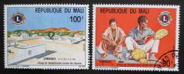 Poštovní známky Mali 1975 Samanko, 5. výroèí Mi# 471-72