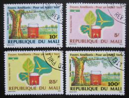 Poštovní známky Mali 1989 Ochrana životního prostøedí Mi# 1113-16