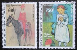 Poštovní známky Mali 1981 Umìní, Picasso Mi# 876-77