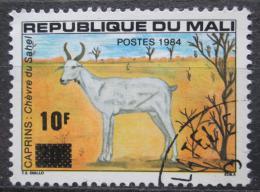 Poštovní známka Mali 1984 Saharská koza pøetisk Mi# 1001