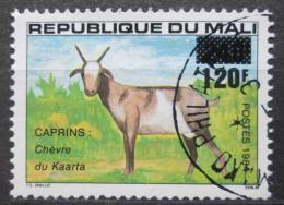 Poštovní známka Mali 1984 Koza pøetisk Mi# 1005